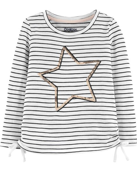 Display product reviews for Side Bow Star Tee
