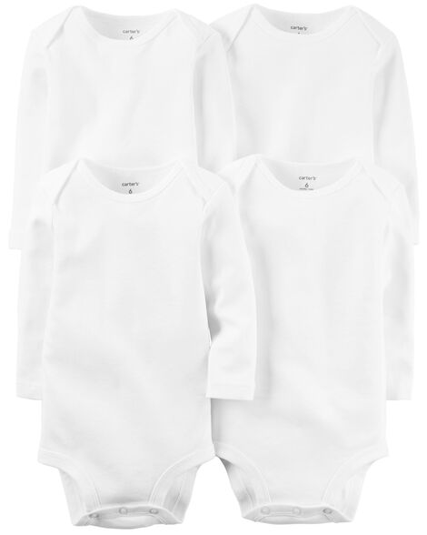 Display product reviews for 4-Pack Long-Sleeve Original Bodysuits