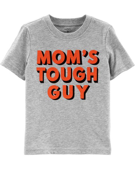 Display product reviews for Mom's Tough Guy Jersey Tee
