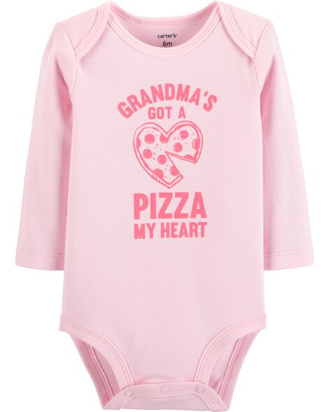 Display product reviews for Grandma Pizza Collectible Bodysuit