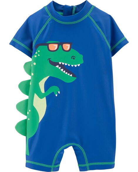 Display product reviews for Carter's 1-Piece Dinosaur Rashguard