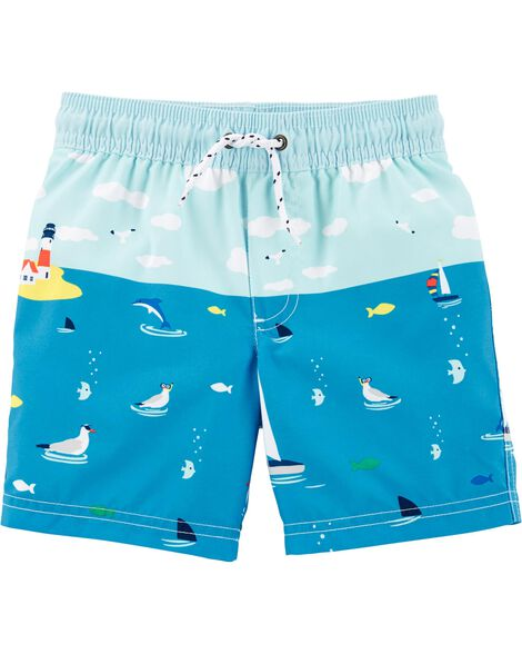 7e7f66ef61cc6 Baby Boy Swimwear: Trunks & Rashguards | Carter's | Free Shipping