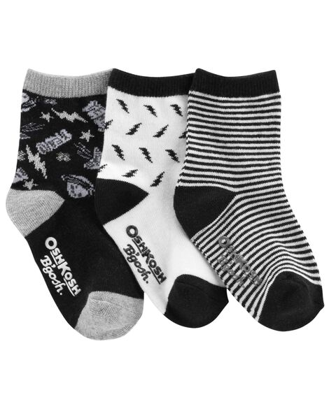 Display product reviews for 3-Pack Lightning Crew Socks