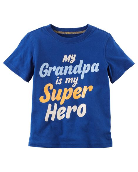 Display product reviews for Grandpa Is My Super Hero Jersey Tee