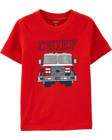 Display product reviews for Chief Firetruck Jersey Tee