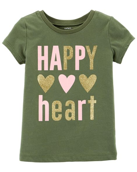 Display product reviews for Happy Heart Jersey Tee
