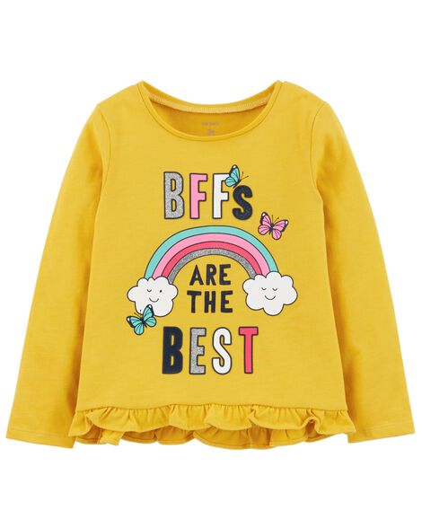 Display product reviews for BFF Hi-Lo Ruffle Tee