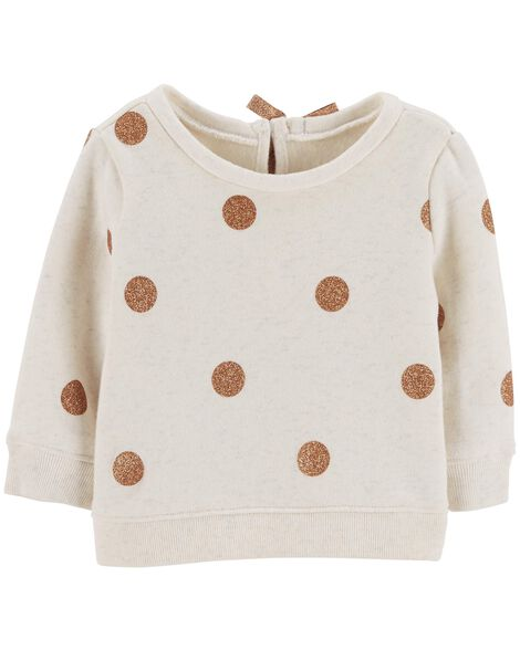 Display product reviews for Polka Dot Fleece Sweater