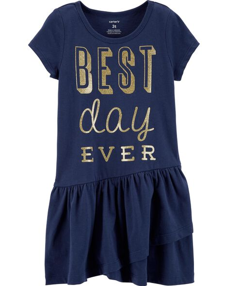 Display product reviews for Glitter Best Day Ever Dress