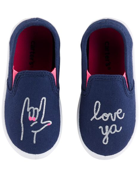 Display product reviews for Carter's Love Ya Casual Sneakers