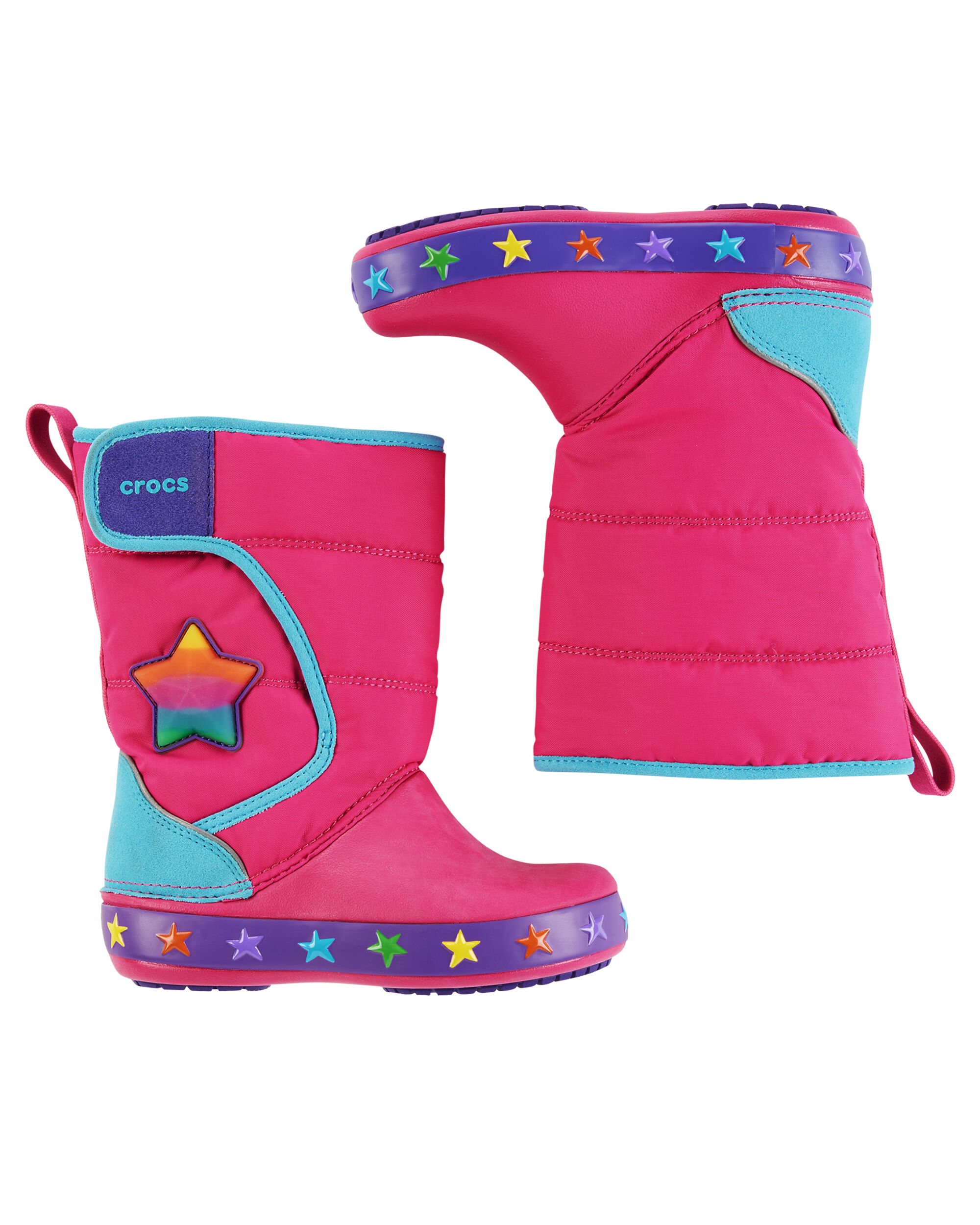 Display product reviews for Crocs Crocslights LodgePoint Boot