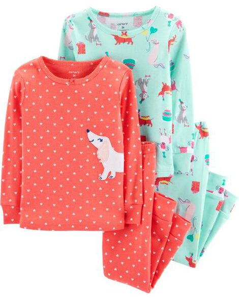 Display product reviews for 4-Piece Snug Fit Cotton PJs