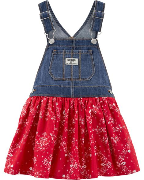 3cbbabfd5e0d5 Baby Girl Overalls & Jumpers | OshKosh | Free Shipping