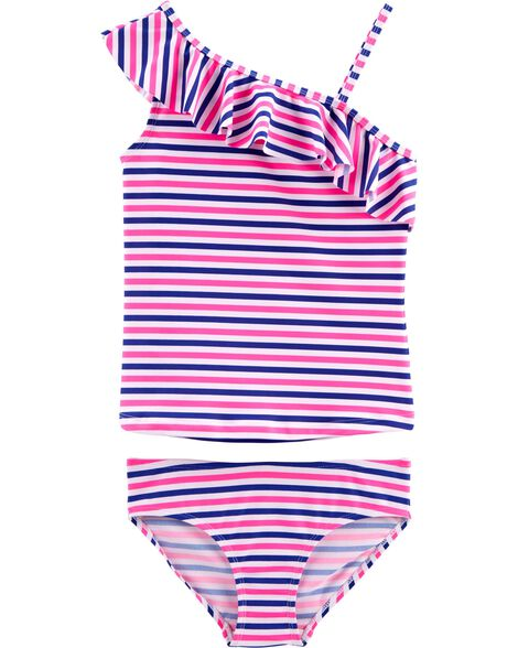 cf63bb6aa6 Girls' Swimsuits & Bathing Suits, Rash Guards | OshKosh | Free Shipping