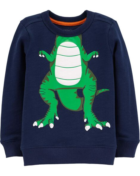Display product reviews for Dinosaur Character Pullover