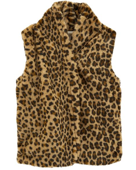 Display product reviews for Cheetah Faux Fur Vest