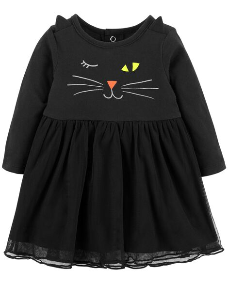 Display product reviews for Halloween Cat Jersey Dress