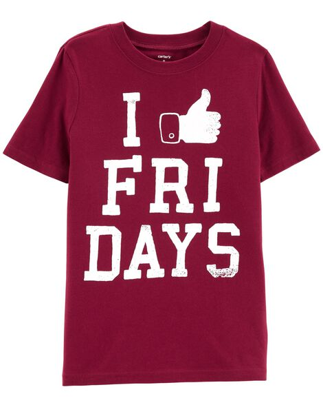 Display product reviews for Fridays Jersey Tee
