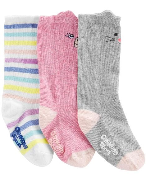 Display product reviews for 3-Pack Knee-High Socks