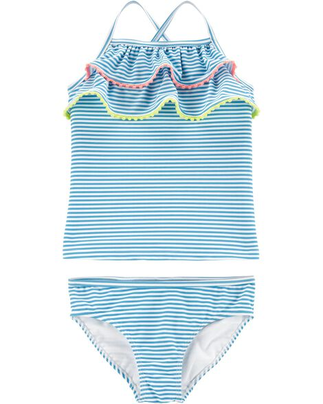 7d42561127b15 Display product reviews for Carter's Striped 2-Piece Swimsuit