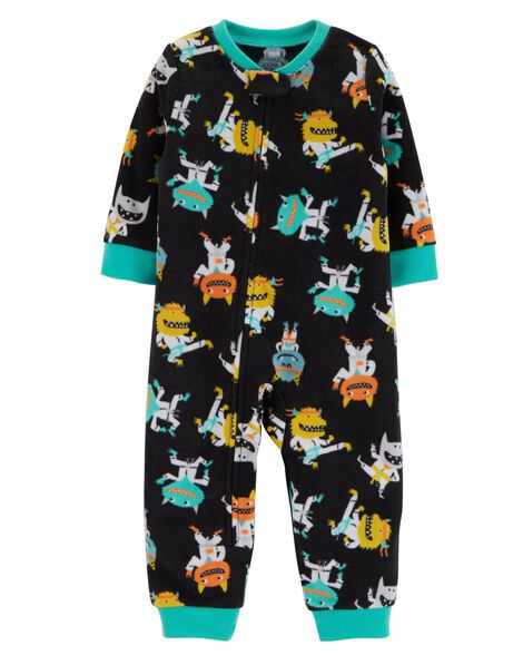Display product reviews for 1-Piece Monster Fleece Footless PJs
