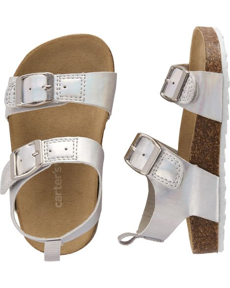 Display product reviews for Carter's Buckle Cork Sandals