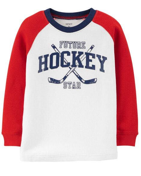 Display product reviews for Hockey Thermal Tee