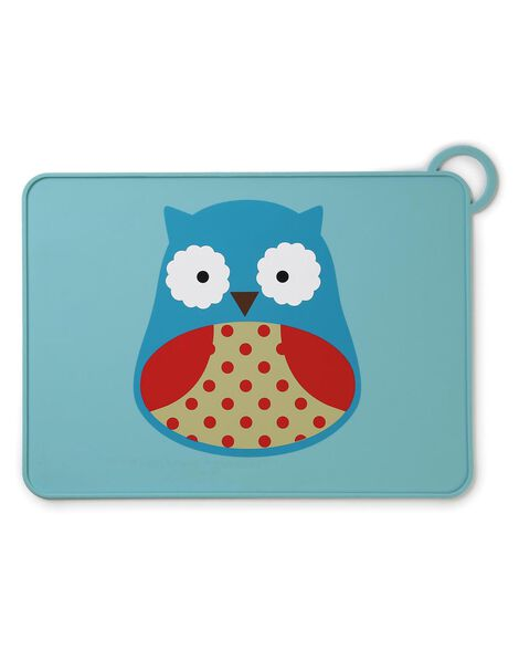 Display product reviews for Zoo Fold & Go Silicone Kids Placemat