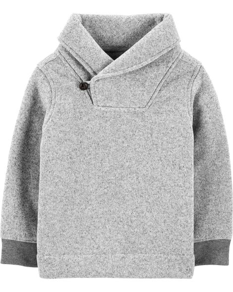Display product reviews for Shawl Collar Pullover