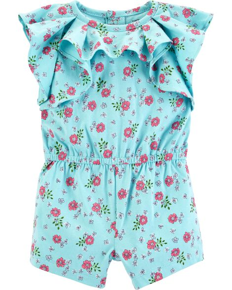 Display product reviews for Floral Ruffle Romper
