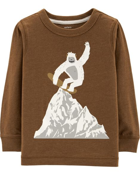 Display product reviews for Yeti Snowboarder Snow Yarn Tee
