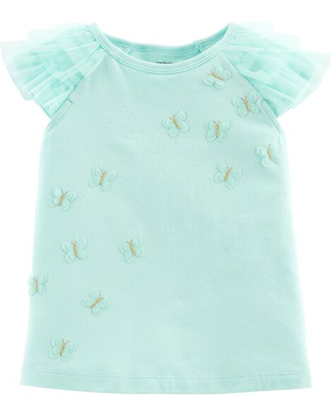 Display product reviews for Butterfly Ruffle Top
