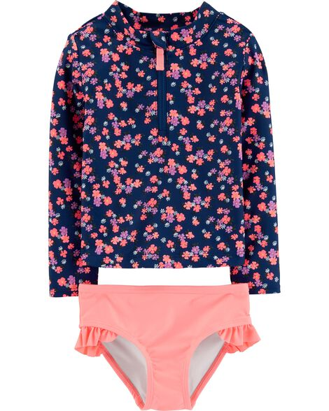 Display product reviews for Carter's Floral Rashguard Set